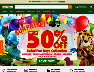safariltd.com screenshot
