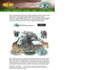 safarimagic.com screenshot