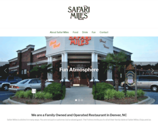 safarimiles.com screenshot