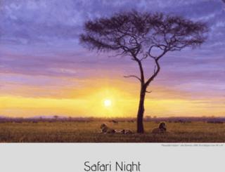 safarinight.splashthat.com screenshot