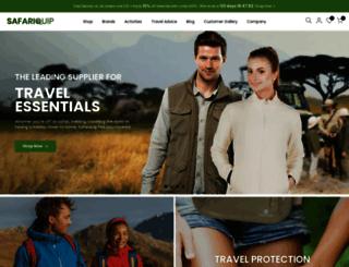 safariquip.co.uk screenshot