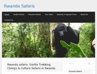 safaris-rwanda.com screenshot