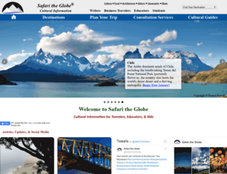 safaritheglobe.com screenshot