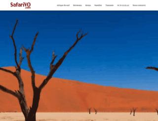 safarivo.com screenshot