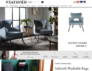 safavieh.com screenshot