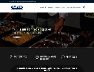 safcoaustralia.com.au screenshot