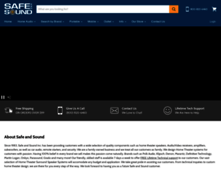 safeandsoundhq.com screenshot
