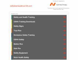 safedownloadsrus196.com screenshot