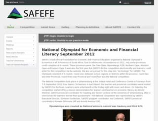 safefe.org.za screenshot