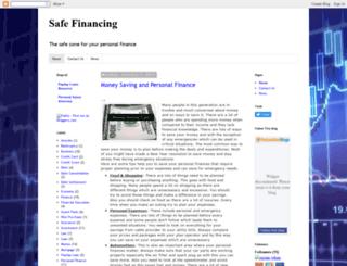safefinancing.blogspot.in screenshot