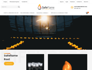 safeflame.com.au screenshot
