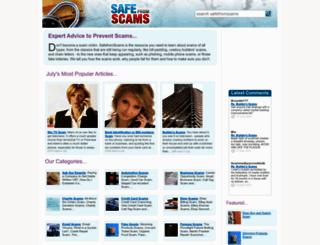 safefromscams.co.uk screenshot