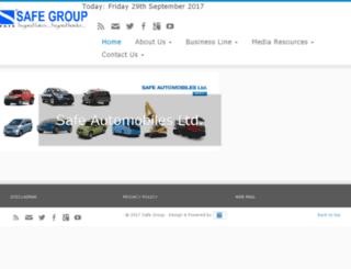 safegroup.com.bd screenshot