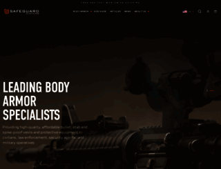safeguardclothing.com screenshot