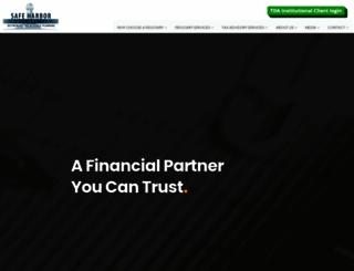 safeharbortaxadvisory.com screenshot