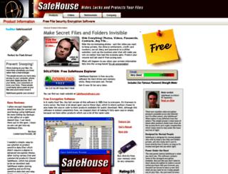 safehouseencryption.com screenshot