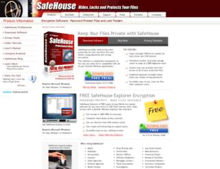 safehousesoftware.com screenshot