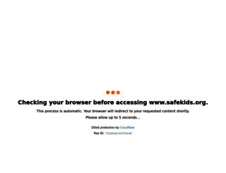 safekids.org screenshot