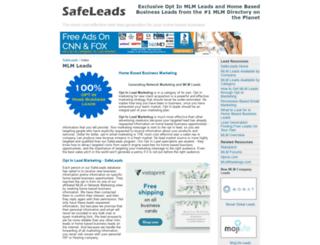 safeleads.com screenshot