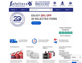 safelincs.com screenshot