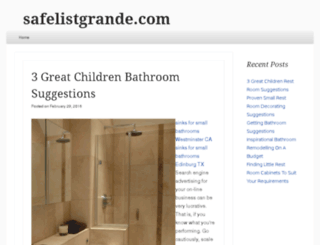 safelistgrande.com screenshot