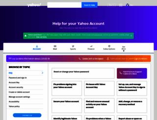 safely.yahoo.com screenshot