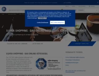 safer-shopping.de screenshot