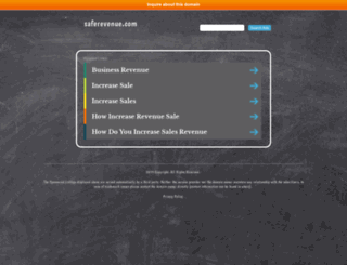 saferevenue.com screenshot