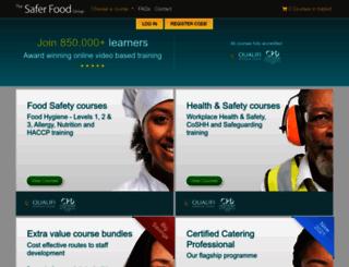 saferfoodsupervisor.co.uk screenshot