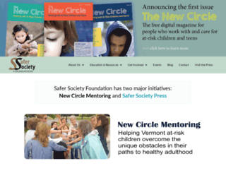 safersociety.org screenshot
