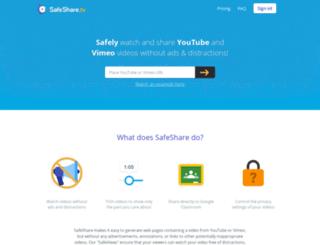 safeshare.tv screenshot