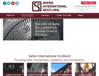 safesinternational.net screenshot