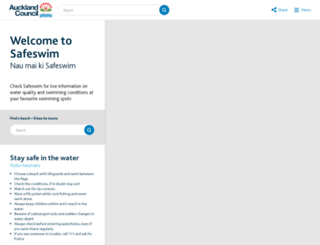 safeswim.org.nz screenshot