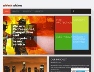safetechsolutionsindia.com screenshot