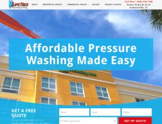safetouchwash.com screenshot