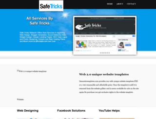 safetricks-services.blogspot.in screenshot