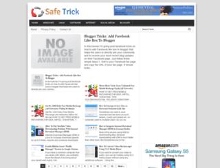 safetrickzz.blogspot.in screenshot