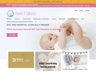 safetsleep.com screenshot