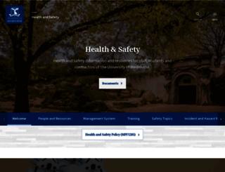 safety.unimelb.edu.au screenshot