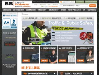 safetybasement.com screenshot