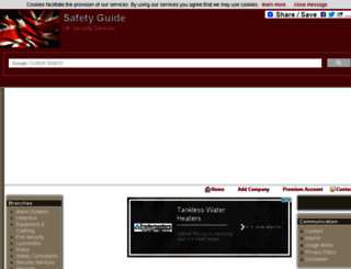 safetyguide.biz screenshot