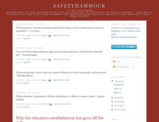 safetyhammock.com screenshot
