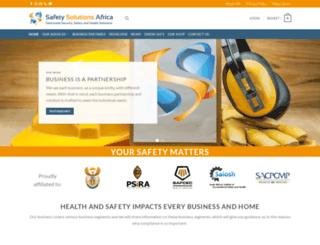 safetysolutionsafrica.co.za screenshot