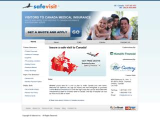 safevisit.ca screenshot