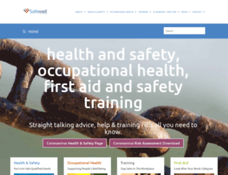 safewell.co.uk screenshot