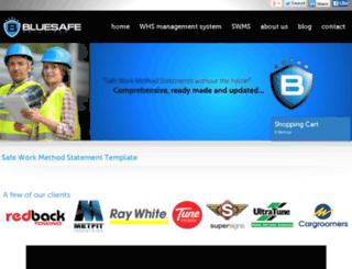 safeworkmethodstatementtemplate.com screenshot