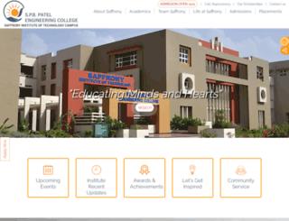saffrony.ac.in screenshot