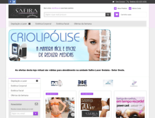 safiraonline.lojaintegrada.com.br screenshot