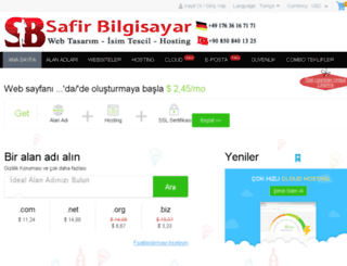 safirbilgisayar.com screenshot