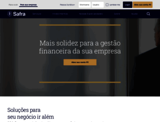 safraempresas.com.br screenshot
